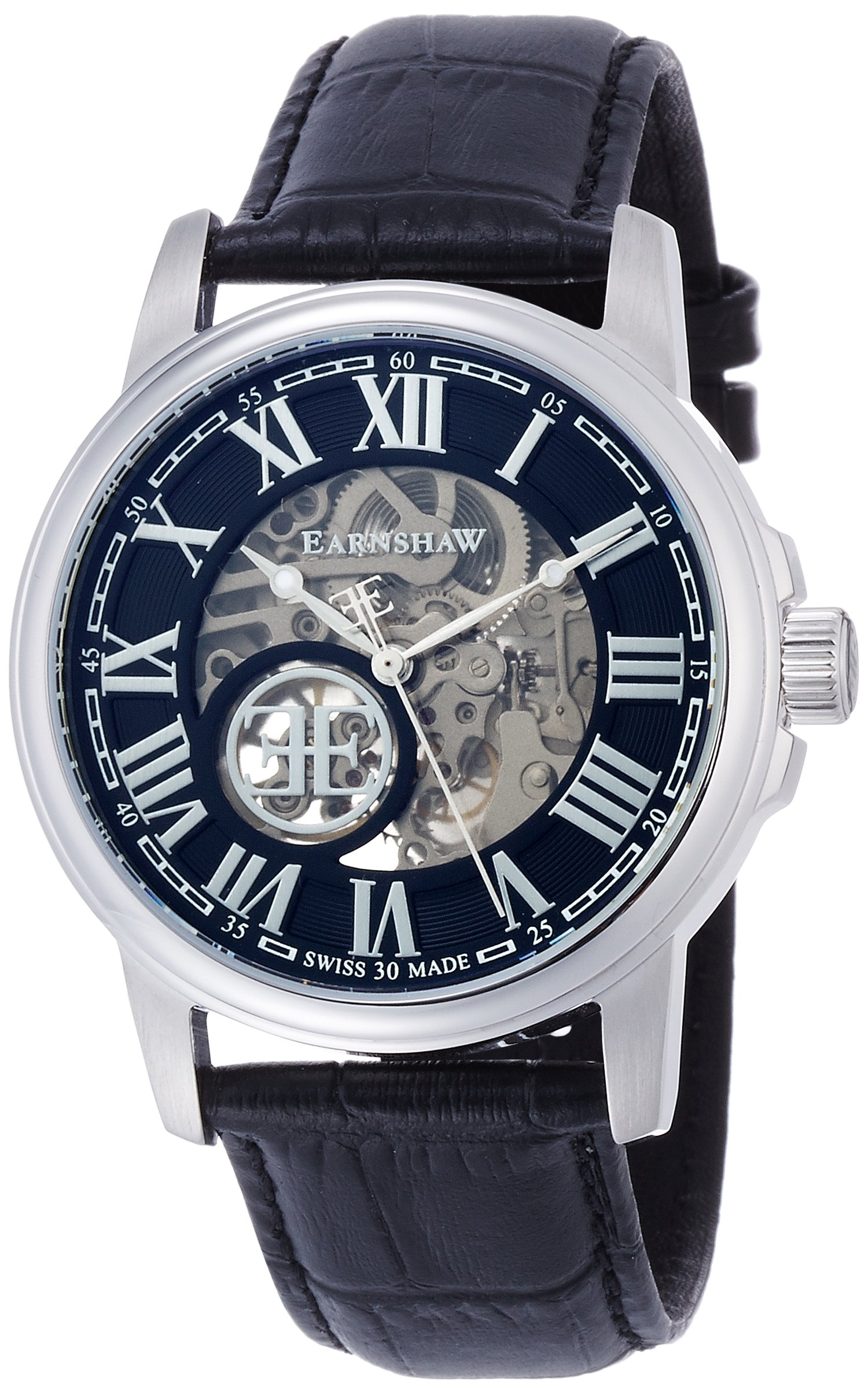 Thomas Earnshaw Beagle Men S Automatic Watch With Black Dial Analogue Display With Black Leather Strap Es 0028 01 Buy Online In Antigua And Barbuda At Antigua Desertcart Com Productid 49436774
