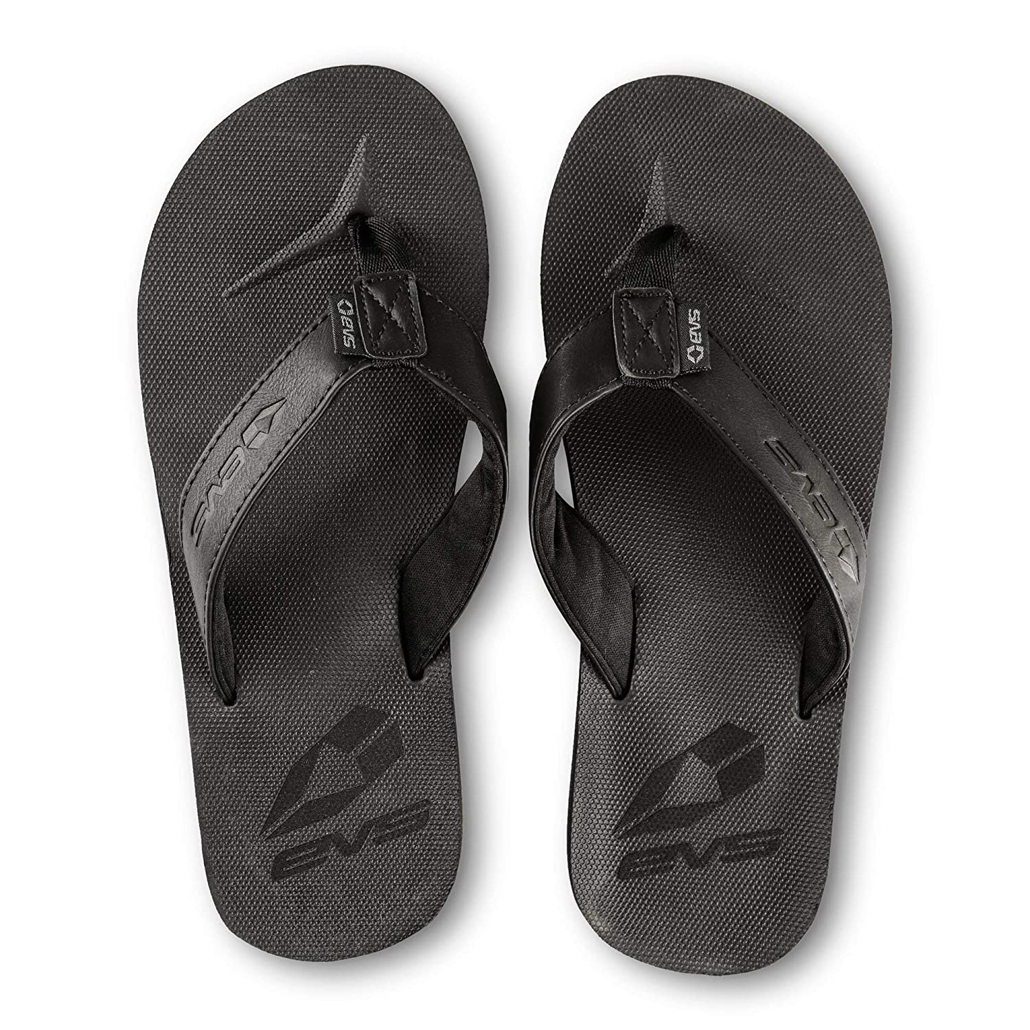 13.5-15.5 EVS Sports Unisex Adult Flip Flops Black XXX-Large