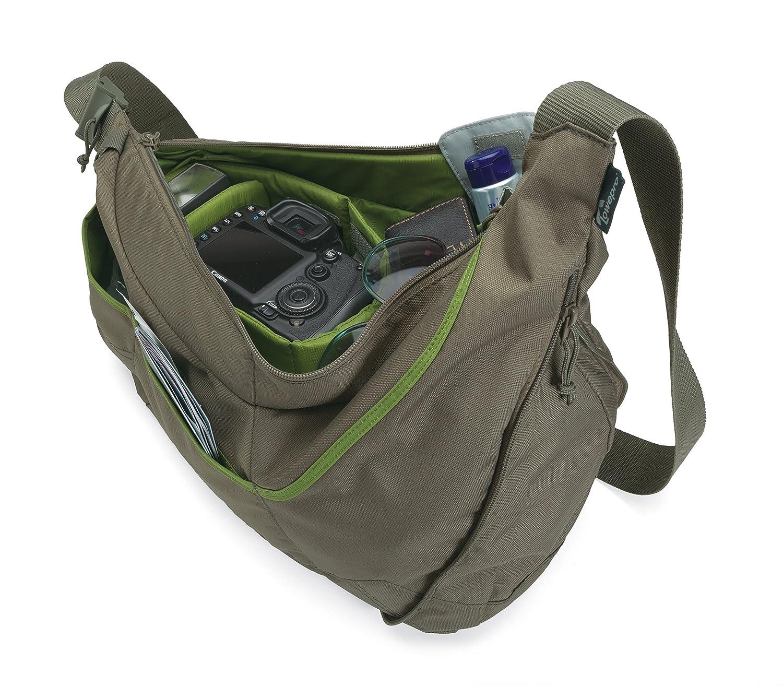 Amazon.com : Lowepro Passport Sling II Camera Bag for DSLR or ...