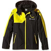PUMA Chaqueta del Borussia Dortmund Rain Coach with Hood y diseño