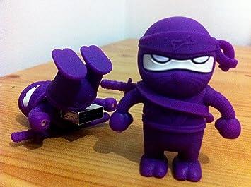 Weird Stuff Store - Memoria USB (4 GB), diseño ninja, color ...