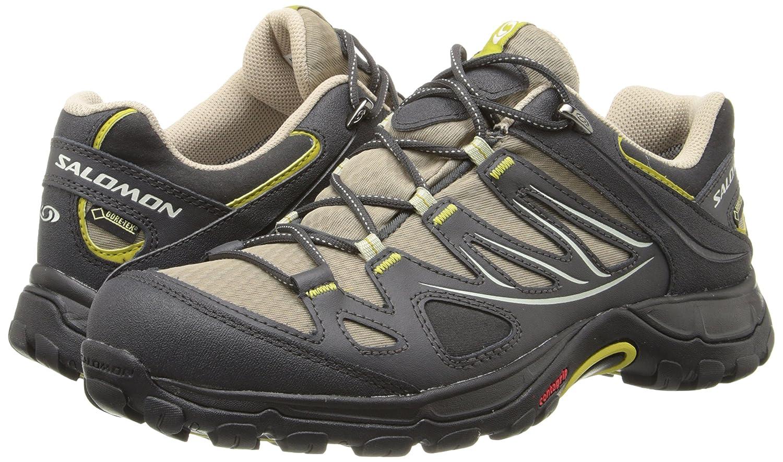 Salomon Women's Ellipse GTX Hiking Shoe B00KSONMLM 9.5 B(M) US|Thyme/Asphalt/Dark Green