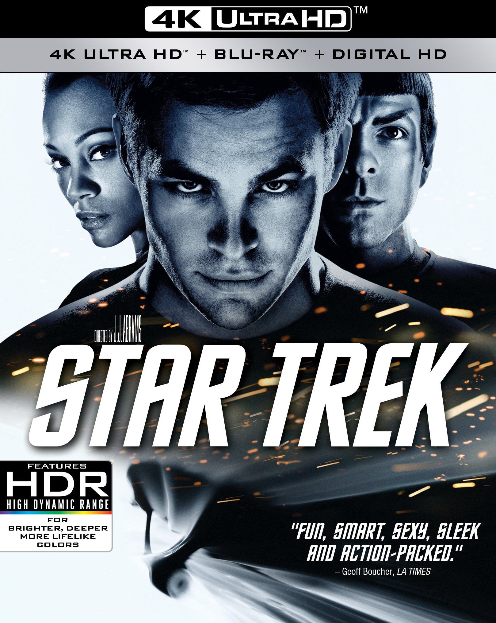 4K Blu-ray : Star Trek Xi (Widescreen, Dubbed, , AC-3, Dolby)