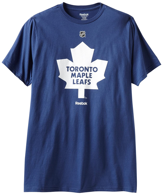 Amazon.com   NHL Toronto Maple Leafs Primary Logo T-Shirt a1df13859