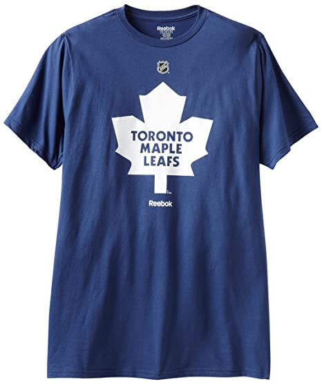 7b8afaca2206 Amazon.com : NHL Toronto Maple Leafs Primary Logo T-Shirt, Dark Blue :  Sports Fan T Shirts : Clothing