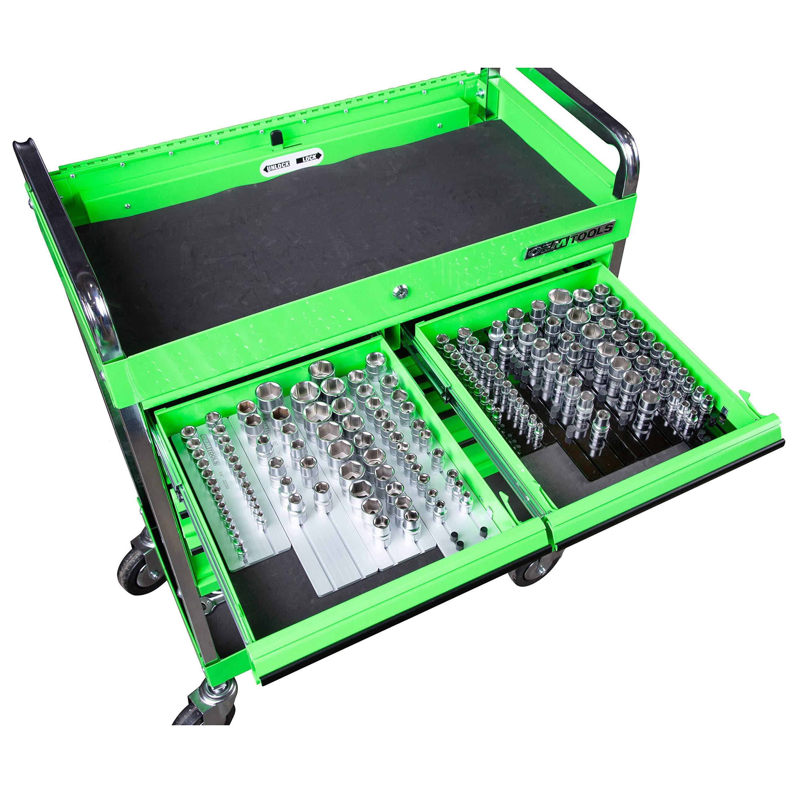 OEMTOOLS 22388 8 Piece Aluminum Socket Tray Set by OEMTOOLS (Image #4)