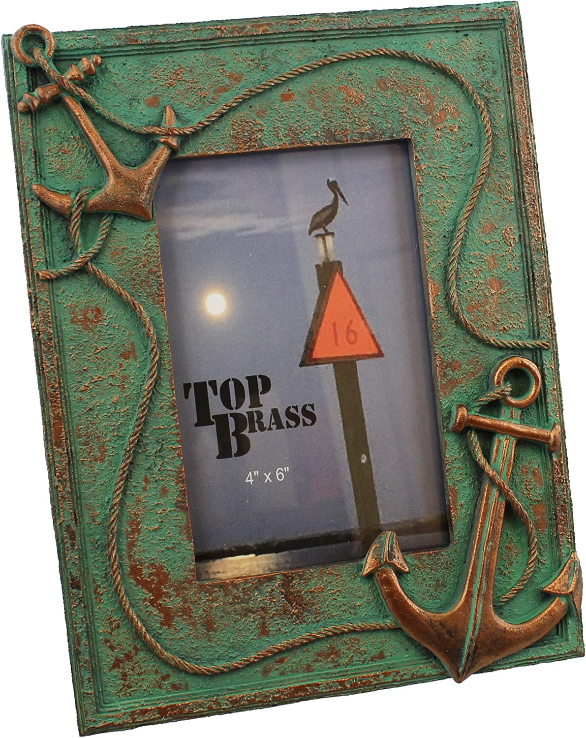 Anchor & Rope Nautical Picture Frame 4