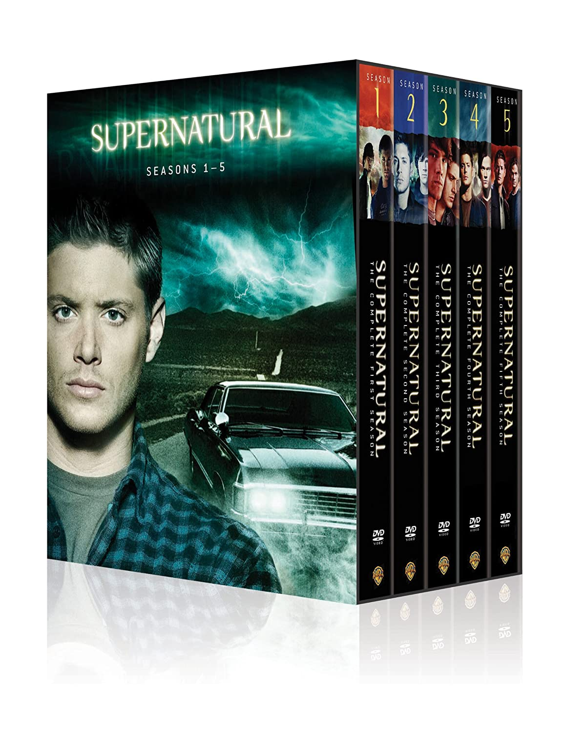 Amazon.com: Supernatural: Seasons 1-5 Box Set: Supernatural: Movies & TV