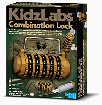 4M KidzLabs Combination Lock Kit