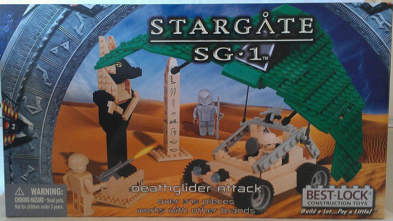 BEST-LOCK STARGATE SG 1 DEATHGLIDER ATTACK SG/_B00GF51R42/_US