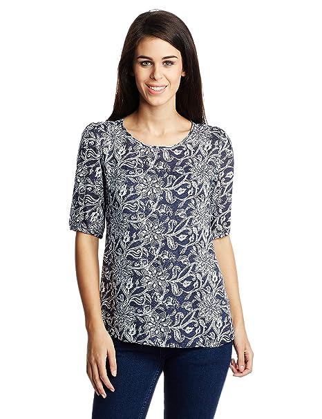 Van Heusen Women's Body Blouse Shirt Shirts at amazon