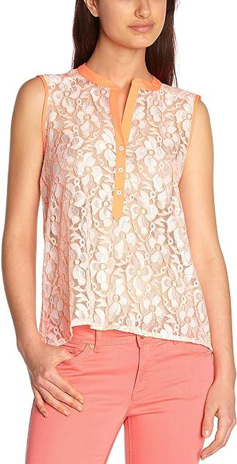 Sinéquanone - Camisa para Mujer, Talla 38, Color Naranja ...