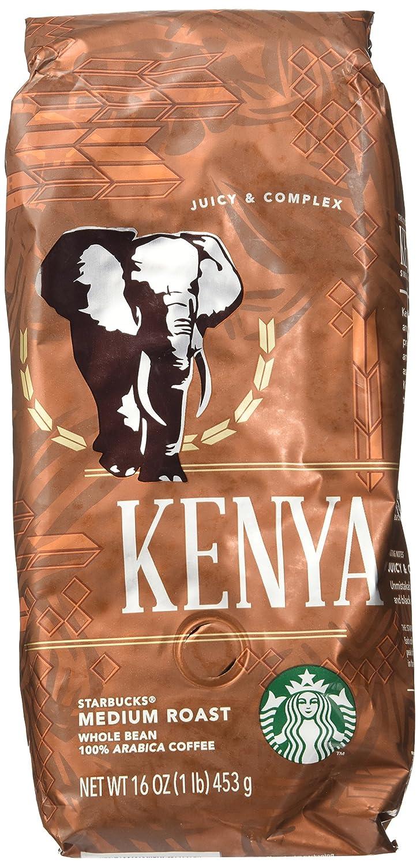 Amazon Starbucks Kenya Whole Bean Coffee 1lb Roasted