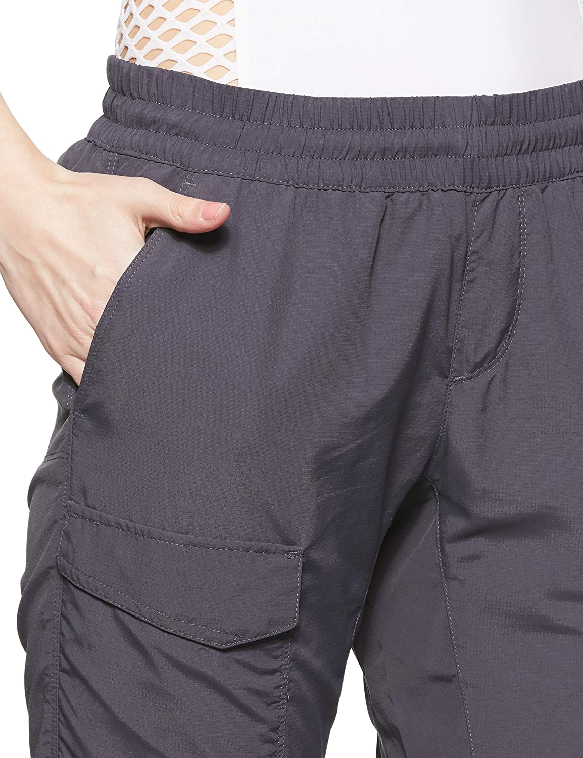 Breathable UPF 50 Sun Protection Columbia Womens Silver Ridge Pull On Pant