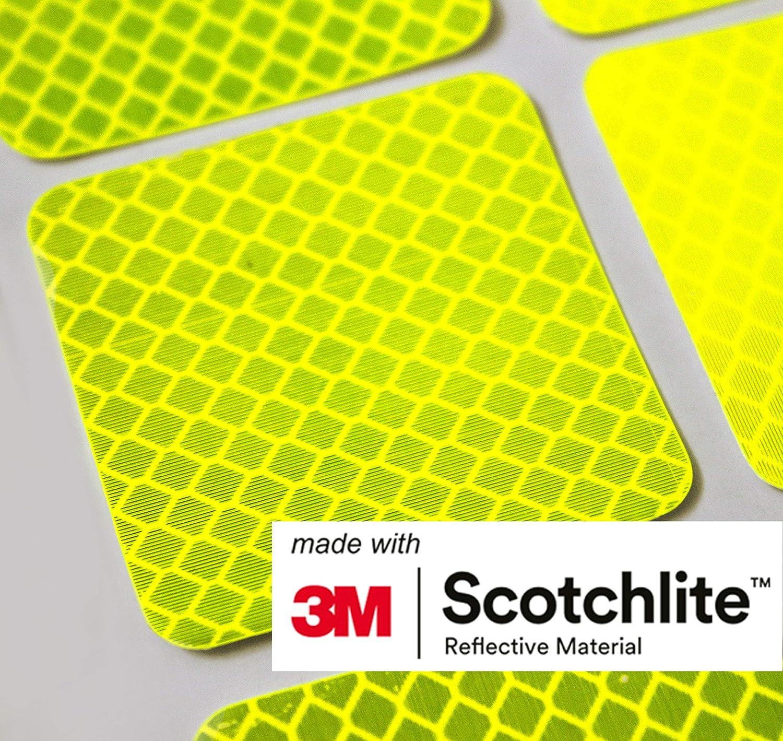 All-Weather Reflective Stickers Waterproof Salzmann Diamond Grade Stickers Made with 3M Diamond Grade