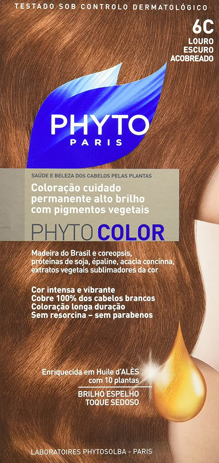 Permanent Hair Color By Phyto Phyto Color 6c Dark Coppery Blond