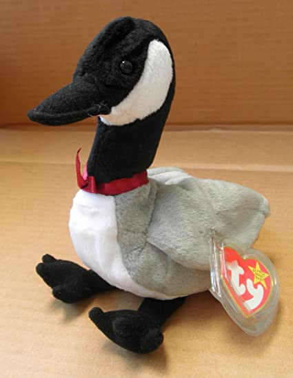 250afbbdfa0 Amazon.com  TY Beanie Babies Loosy the Goose Stuffed Animal Plush Toy - 8  inches tall  Everything Else