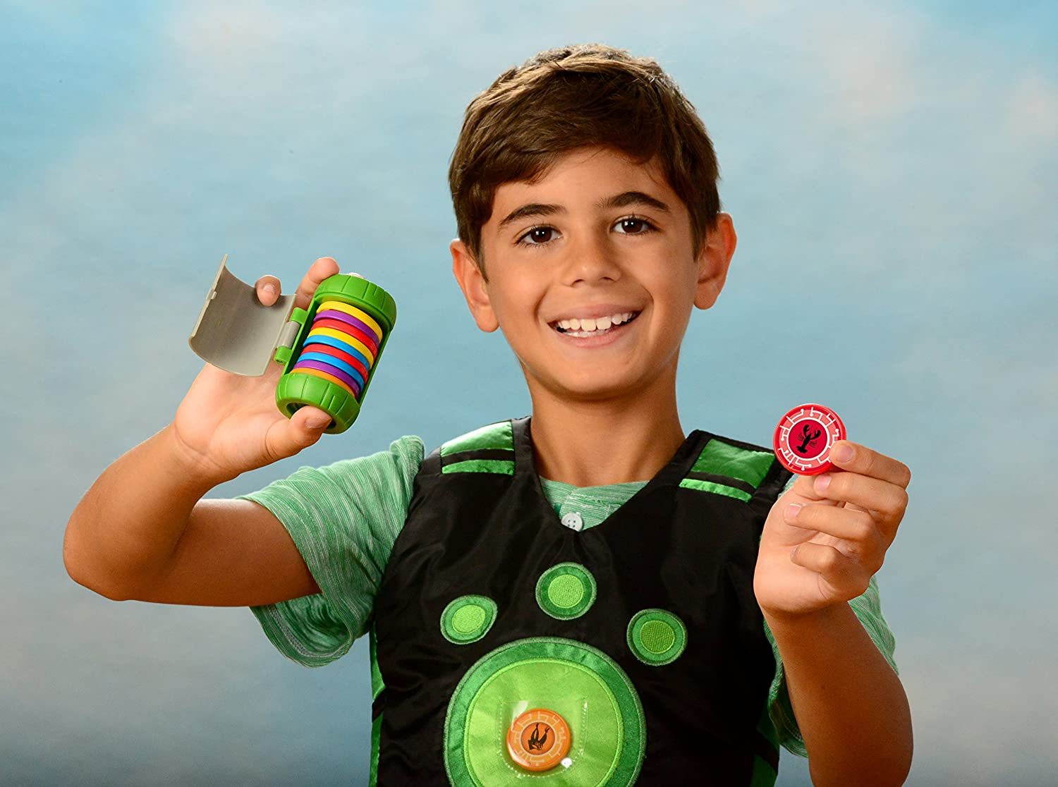 Wild Kratts Toys Creature Power Disc Holder Set with 20 Discs Chris Kratt Wicked Cool Toys .