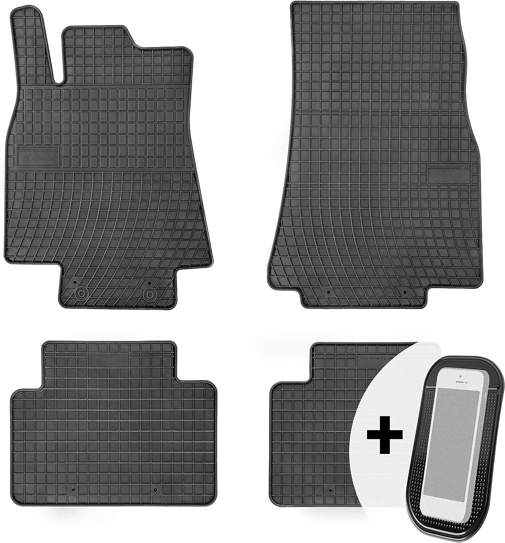 Gummimatten Auto Fußmatten Gummi Automatten Passgenau 4 Teilig Set Passend Für Mercedes Benz A Klasse W169 2004 2012 Auto