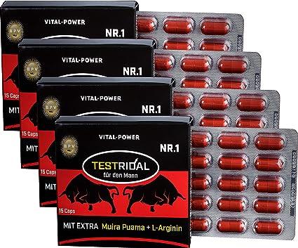 La NR.1 en el mercado de prueba ridal 60 Cápsulas Alto dosiert > testosterona