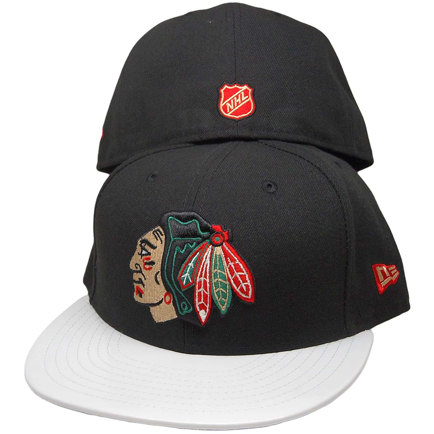 Chicago Blackhawks nueva Era 9 FIFTY gorra a medida para match ...