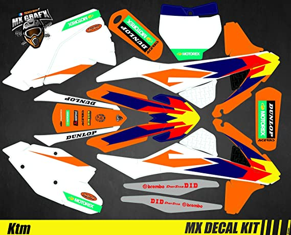 GoPro Edition Kit D/éco Moto//MX Decal Kit for KTM Sx SxF