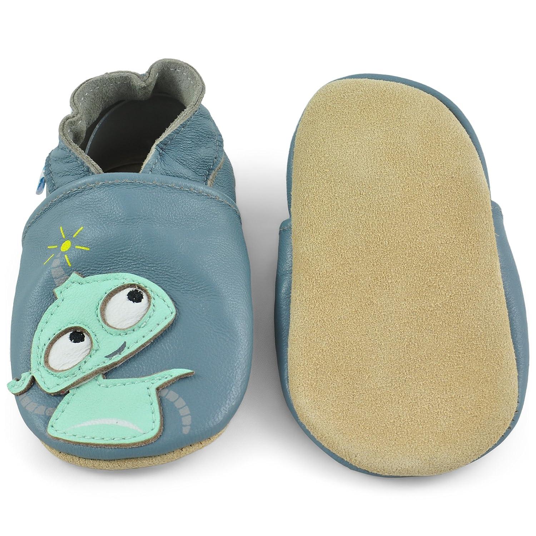 da98489a5d1 Zapatitos Primeros Pasos Zapatos Bebe Niña Niño Zapatillas de Cuero  Pantuflas Infantiles 0-6 Meses 6-12 ...