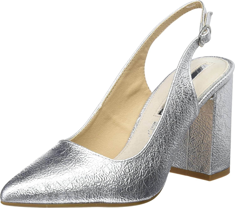 TALLA 37 EU. MARIA MARE Mara, Zapatos de tacón con Punta Cerrada para Mujer