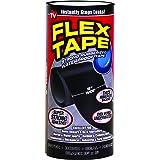 Flex Tape Rubberized Waterproof Tape, 8 inches x 5 feet, Black