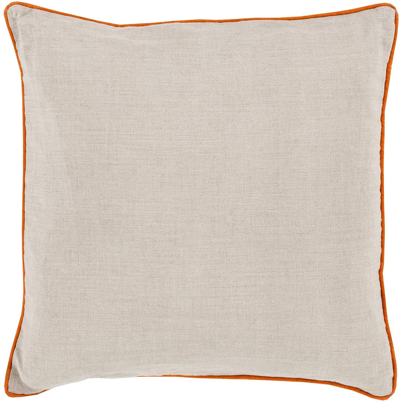 Surya Rug LP001-2222P Square Beige Decorative Poly Fiber Pillow 22 x 22 in.   B00H2KGOYW