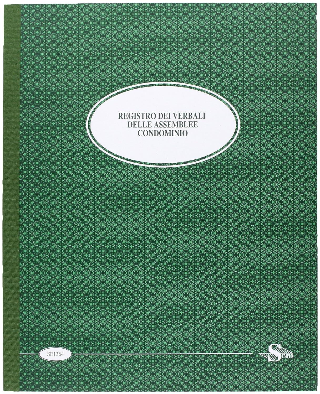Semper Multiservice SE136400000 Registro Verbali Assemblee Condominio Buffetti