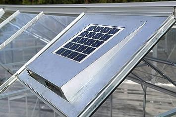"vitavia – Ventilador de techo solar ""Solar Fan para invernaderos (555 x"