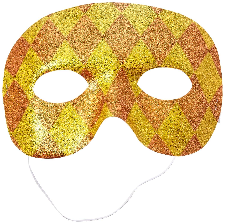Harlequin Domino Party Masks 3 x 7 12 Ct.