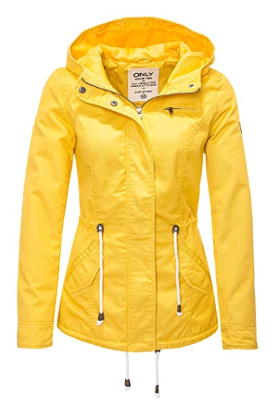 ONLY Women's Onlnew Lorca Spring Parka Jacket Cc OTW  Amazon.co.uk  Clothing a83ab767bcd5
