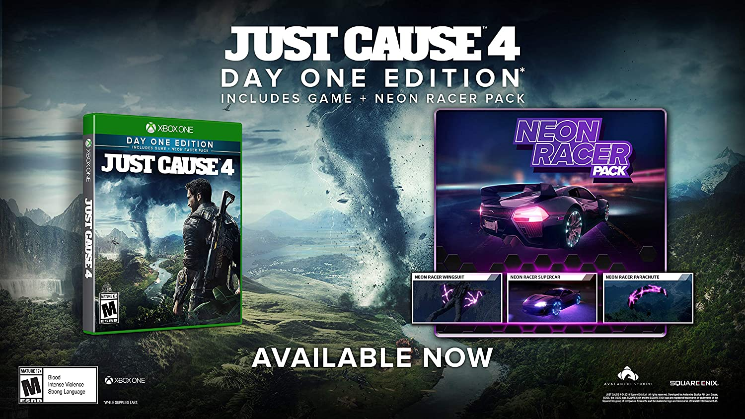 Just Cause 4 for Xbox One [USA]: Amazon.es: Square Enix LLC: Cine ...