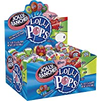 JOLLY RANCHER Lollipops Bulk Candy, Candy Assortment, 50 Count in Single Box
