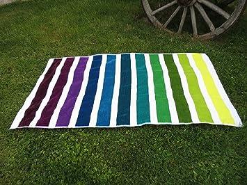 Toalla playa de terciopelo,100x180cm, alta calidad, fabricada en Portugal. 100%algodón.: Amazon.es: Hogar