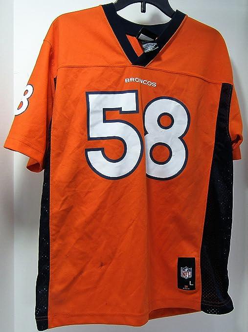 huge discount 5a10f ad54d Peyton Manning Youth Misprint Jersey (Denver Broncos) #58 ...