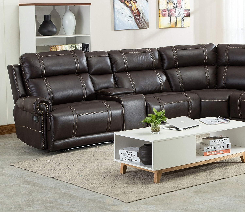 Fabulous Amazon Com Esofastore Power Motion Recliner 6Pcs Sectional Alphanode Cool Chair Designs And Ideas Alphanodeonline