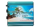 3000W transformer AC 220V to AC 110V or AC 110V