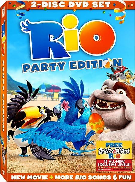 Amazon Com Rio Two Disc Party Edition Disher Karen Fricchione Jason Mann Leslie Keaton Kelly Eisenberg Jesse Movies Tv