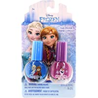 Townley Girl Disney Frozen Nail Polish – Two Pack, Multi Color