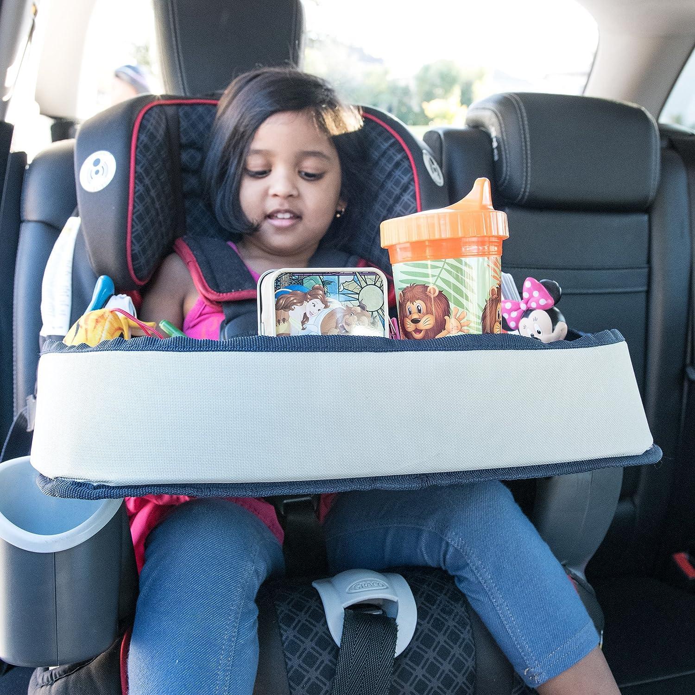 Amazon.com: Lap Desk Travel Tray For Kids – Car Seat Activity Tray ...