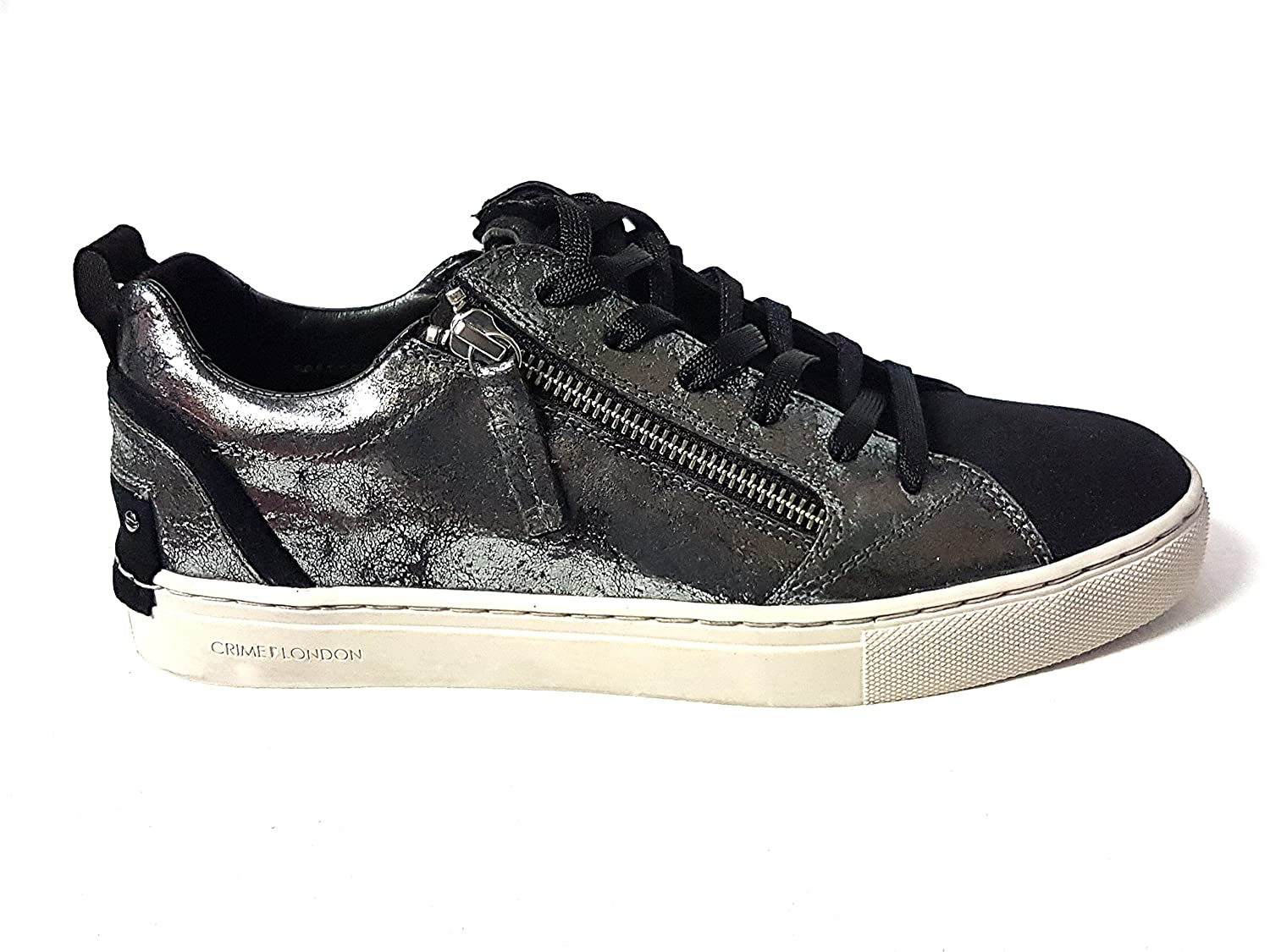 Crime London sneakers 25301a17 argento (36)