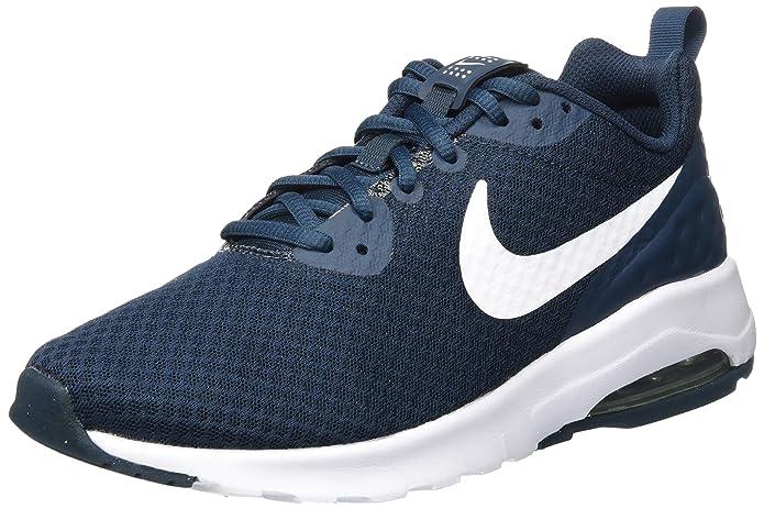 Nike Air Max Motion Sneakers Herren Marineblau mit weißen Streifen