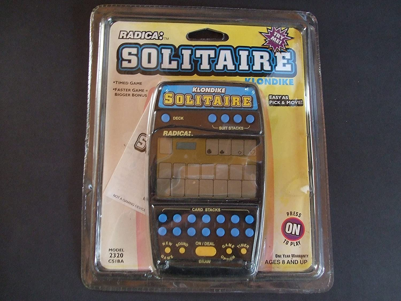 大勧め 2-in1 Klondike Solitaire Handheld Game (Radica #2320) by Radica B0055TNIAK, デリシャスハーツ ba3247be