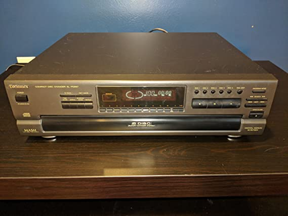Amazon.com: Technics SL-PD887 CD Player Changer w/ 5 Disc ...