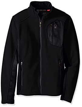 Spyder Bandit - Chaqueta para Hombre, Cremallera Completa, Hombre, Bandit Full Zip Lt WT, Black/Polar, S: Amazon.es: Deportes y aire libre