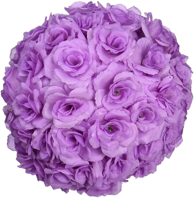 Amazon Linentablecloth Silk Flower Ball 12 Lavender Home