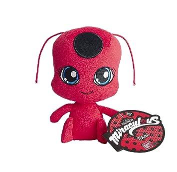 Miraculous Peluche Ladybug Tikki 39831, 15 cm, de la marca